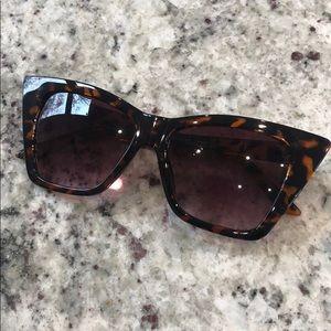 H&M Tortoise Shell Cat-Eye Sunglasses
